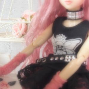 J-doll着替え/When I got dressed, I split up.