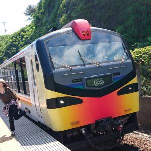 列車旅!絶景列車リゾートしらかみに揺られて♪/白神山地旅行(青森)2019/3日目①