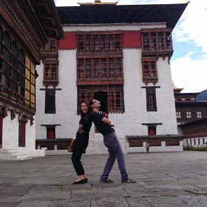 ブータン王国の中心地!首都ティンプーのタシチョ・ゾン/ブータン旅行2019/2日目④