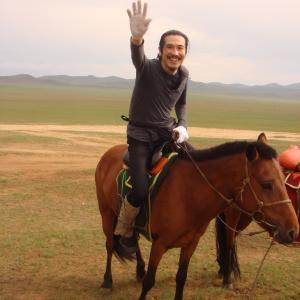 パッカパッカ♪モンゴルの大草原を乗馬♪そしてHSハーンへ!/モンゴル旅行2012/3日目