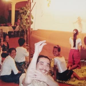 トンレサップ湖遊覧と伝統影絵芝居「スバエク」鑑賞♪/カンボジア旅行2008/3日目②