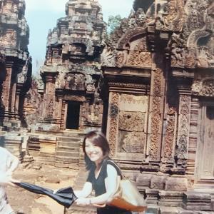 バン!バン!バン!バンテアイ・スレイとバンテアイ・サムレ/カンボジア旅行2008/4日目②