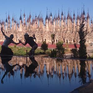 無数の仏塔に驚きの絶景!カックー遺跡へ!/ミャンマー旅行2019/7日目②