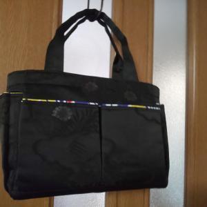 手作り帯地バッグ
