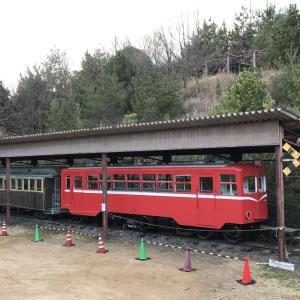 【井原】井笠鉄道ホジ101+ホハ8/経ケ丸グリーンパーク