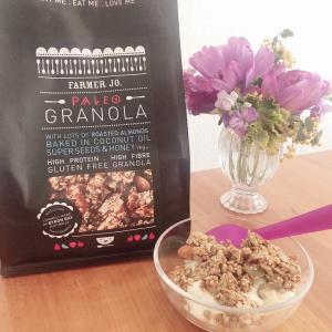 最近お気に入りの「パレオグラノーラ」をご紹介します♪【小麦アレルギー・グルテンフリー】