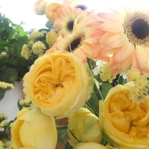 久しぶりのお花のレッスンで、気分もリフレッシュしましょう〜!!和光市花教室フラワーアレンジ
