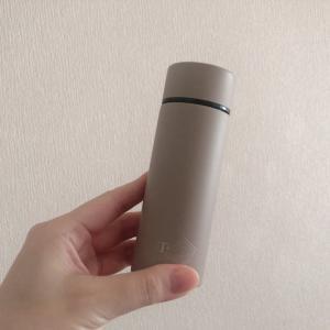 先日のお買いもの:ポケットサイズで小さくて可愛いタンブラー水筒♪ポケトル