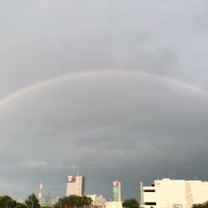 こんなにキレイな虹を見たのは初めてかも!ラッキーをおすそ分けします^^