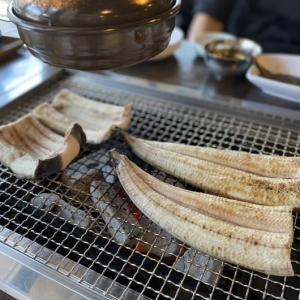 いましかない… 鰻に焼肉