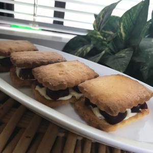「アメリカンチェリーのサンドクッキー」
