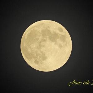 June 6th 2020 - Strawberry Moon