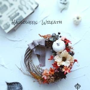 Halloween wreath♡インスタグラムフォトコンテスト受賞しました♪