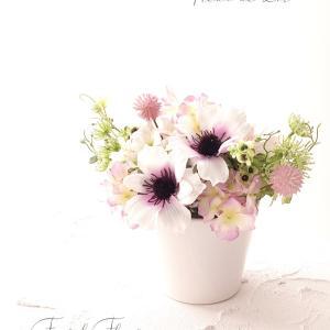 亡き祖母を偲んで 仏花アレンジメント