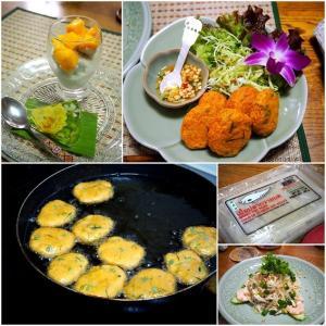 タイ風さつま揚げ「トード・マン・プラー」を作るの巻。@タイ料理教室diidii(池袋)