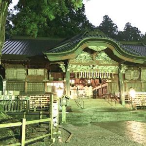 北口本宮冨士浅間神社でエネルギーワークをおかけしました