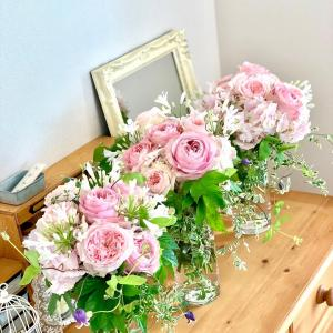 7月のお花のワークショップは11日、アイロニー認定校レッスンは、17(土)、18日(日)です