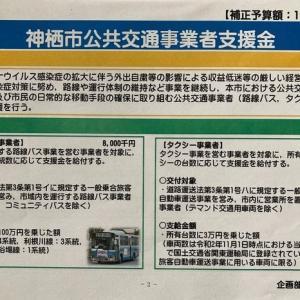 新型コロナウイルス - 神栖市公共交通事業者支援金