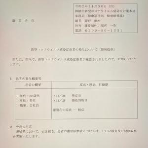 新型コロナウイルス(11月30日)