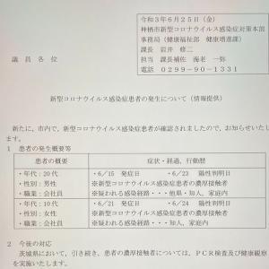 新型コロナウイルス(6月25日)