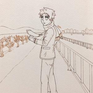 コピック練習イラスト(線画)