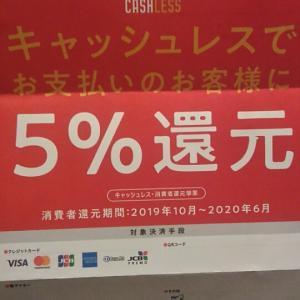 当店はキャッシュレス・消費者還元事業の対象店舗です。