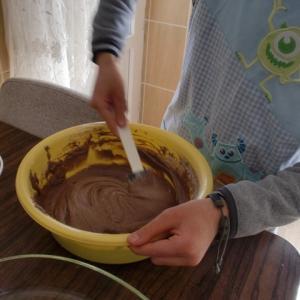 長男と一緒にオンラインでお菓子作りに挑戦!