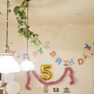 五歳になりました!