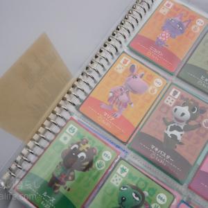 【100円ショップ/無印】どうぶつの森amiiboカードをセリアと無印良品の商品を使って収納