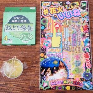 【100均】花火が100円ショップで買えるなんてビックリ!〜夏休みにもピッタリ〜