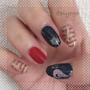 My nail:2019.10.20