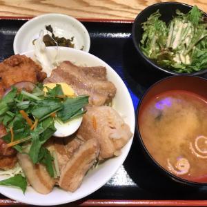 黒豚角煮唐揚げ丼@さつま翁