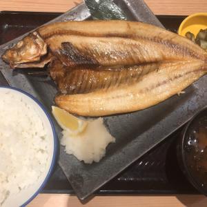 本日の焼き魚定食@スタンド源ちゃん