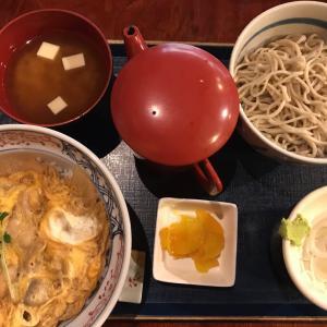 親子丼&もり蕎麦@松楽