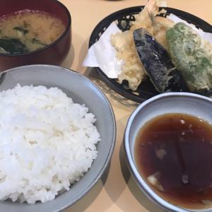 天ぷら定食@天成