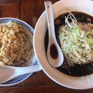 冷し黒酢麺@揚州商人