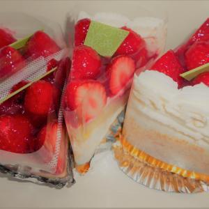 【鶴岡テイクアウト④】鶴浜屋さんの苺たっぷりケーキ