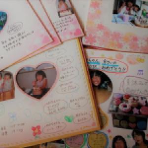 【セリア】思い出をまとめる色紙ファイル