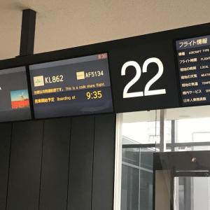 KLMでアムステルダム経由 ローマまで帰国 3