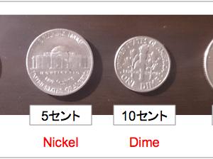 アメリカの硬貨について