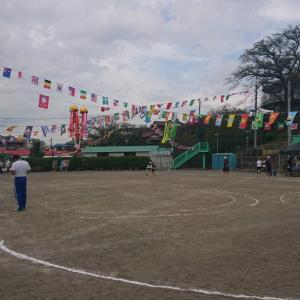 幼稚園、最後の運動会