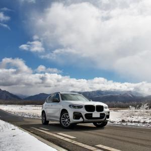 -5℃の高原を走ってきました。BMW/X3 M40d