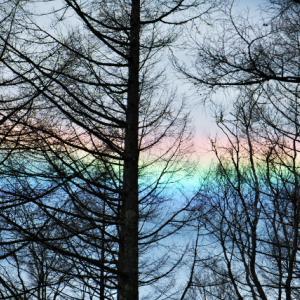 いきなり・・・虹色の雲が出現・・・そして消滅。