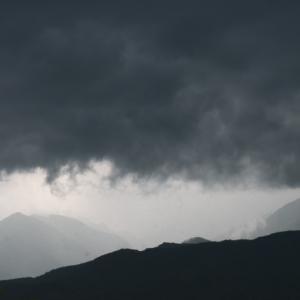 ゲリラ雷雨の凄まじさ。。。