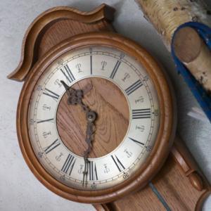 KINZLEの振り子時計、ちゃんと動いています。