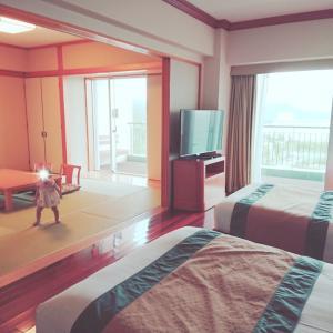 ◆子連れ旅行で一番大切【ホテル】プールデビュー❤️