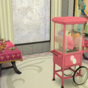 【シムズ4】綿菓子MOD! みんな気分がハッピーなんじゃ~【Sims4】【MOD】【千鳥ふうシムが行く!】