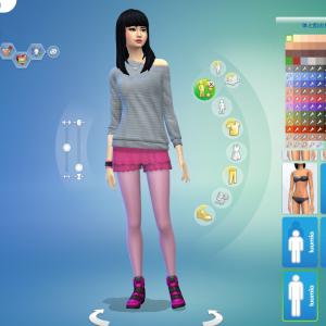 八尺様を作ってダンスしてみた! 身長MOD 【千鳥ふうシムと都市伝説いろはミナティ】 【The Sims4】【MOD 】【シムズ4】