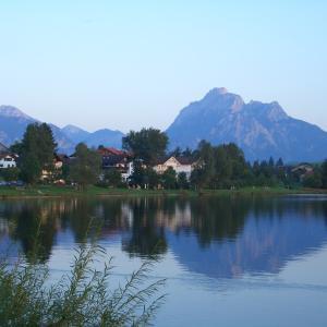 ドイツの素敵な湖畔