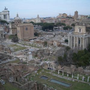 古代ローマ時代の遺跡